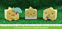 Lawn Fawn - Tiny Gift Box Chick And Duck Add-on, Stanssisetti