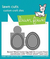 Lawn Fawn -  Reveal Wheel - Easter Egg Add-On, Stanssisetti