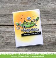 Lawn Fawn - Be Hap-pea, Leimasetti