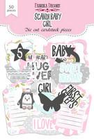 Fabrika Decoru - Leikekuvat, Scandi Baby Girl, 50 osaa