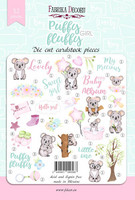 Fabrika Decoru - Leikekuvat, Puffy Fluffy Girl, 52 osaa
