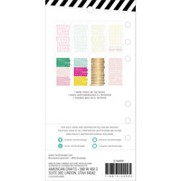 Heidi Swapp - Memory Planner Sticker Book, Fresh Start, Alphabet
