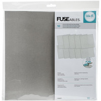 We R - FUSEables Fuse Clear Sheets 12