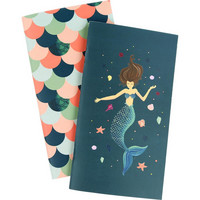 Echo Park - Traveler's Notebook Insert, Vihkosetti, Mermaid Weekly Calendar