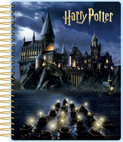 Paper House - Harry Potter 12-Month Planner, Hogwarts At Night (Huom! Kannessa hankaumaa)