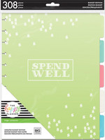 MAMBI - Happy Planner BIG Budget Extension Pack, Lisäsivusetti