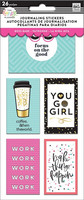 Mambi - Journaling Flip Stickers, Boss Babe