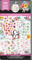 MAMBI - Happy Planner, Fun Florals, Tarrasetti, 30arkkia