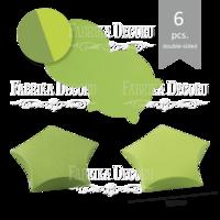 Fabrika Decoru - Tähtirasia, pieni, koottava, 6kpl