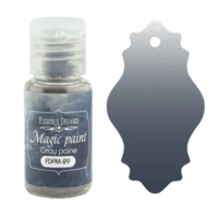 Fabrika Decoru - Magic Paint, Värijauhe, 15 ml, Gray payne