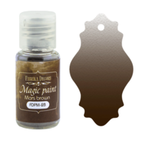 Fabrika Decoru - Magic Paint, Värijauhe, 15 ml, Mars brown