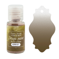 Fabrika Decoru - Magic Paint, Värijauhe, 15 ml, Burnt umber