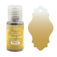 Fabrika Decoru - Magic Paint, Värijauhe, 15 ml, Sienna natural