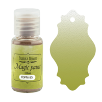 Fabrika Decoru - Magic Paint, Värijauhe, 15 ml, Olive