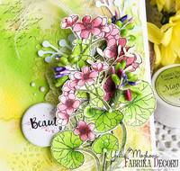 Fabrika Decoru - Magic Paint, Värijauhe, 15 ml, Yellow green