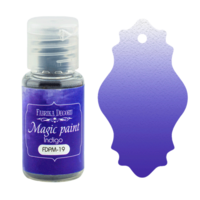 Fabrika Decoru - Magic Paint, Värijauhe, 15 ml, Indigo