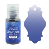 Fabrika Decoru - Magic Paint, Värijauhe, 15 ml, Berlin blue