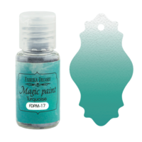 Fabrika Decoru - Magic Paint, Värijauhe, 15 ml, Turquoise