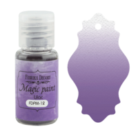 Fabrika Decoru - Magic Paint, Värijauhe,15 ml, Lilac