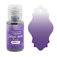 Fabrika Decoru - Magic Paint, Värijauhe,15 ml, Purple
