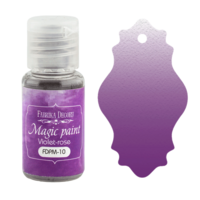 Fabrika Decoru - Magic Paint, Värijauhe,15 ml, Violet-Rose