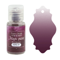 Fabrika Decoru - Magic Paint, Värijauhe,15 ml, Bordeaux