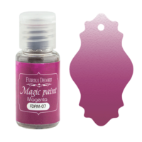 Fabrika Decoru - Magic Paint, Värijauhe,15 ml, Magenta