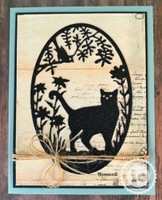 Impression Obsession - Cat & Bird Frame, Stanssi