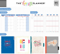 MAMBI - Happy Planner, BIG, 18 kuukautta, Happy Year