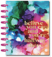 MAMBI - CLASSIC Happy Planner 2019-2020, 18 kk, Paint Splash
