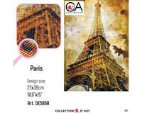 Collection D'Art - Paris (K), Timanttimaalaus, 27x38cm