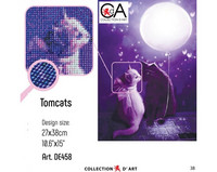 Collection D'Art - Tomcats, Timanttimaalaus, 27x38cm