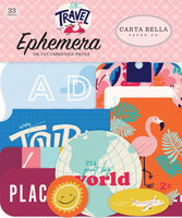 Carta Bella - Let`s Travel Ephemera, Leikekuvia, 33 kpl