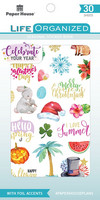 Paper House - Seasonal Sticker Book, Tarrasetti