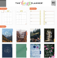 MAMBI - CLASSIC Happy Planner 2019-2020, 18 kk, Let's Get Lost