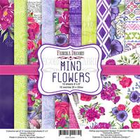 Fabrika Decoru - Mind Flowers, 8'x8', Paperikko