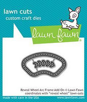 Lawn Fawn -  Reveal Wheel - Arc Frame Add-On, Stanssisetti