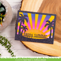 Lawn Fawn - Happy Summer Line Border, Stanssisetti