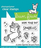 Lawn Fawn - A Little Sparkle, Leimasetti