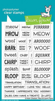 Lawn Fawn - Critter Chatter: Pets, Leimasetti