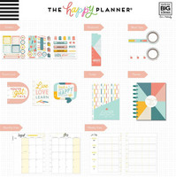 Happy Planner - CLASSIC kalenteriboxi, Teaching Is Tough, 2019-2020, 12kk