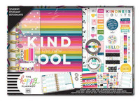 Happy Planner - CLASSIC kalenteriboxi, Kind Is The New Cool, 2019-2020, 12kk