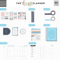 Happy Planner - BIG kalenteriboxi, Never Be Erased, 2019-2020, 12kk