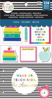 Mambi - Happy Planner Accessory Pack, Teachers Gonna Teach
