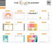 Mambi - Happy Planner Accessory Pack, Student - Stay Rad