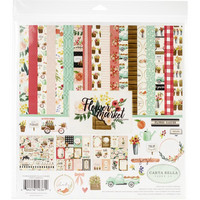 Carta Bella - Flower Market, Collection Kit 12
