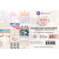 Prima Marketing - Golden Coast, Journaling Notecards, 4