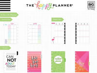 MAMBI - MINI Happy Planner 2019-2020, Sassy Plans, päivätty