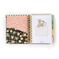 Simple Stories - Carpe Diem Live Simply Spiral Planner, Päivätty 17 kk
