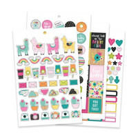 Simple Stories - Oh, Happy Day!, Carpe Diem Sticker Tablet, 521 tarraa